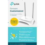ROTEADOR WIRELESS 300MBPS TP-LINK TL-WR840N (W) C/2-ANTENAS EXT.FIXA
