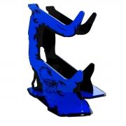 Suporte para Controle Rise Mode Scorpion Preto e Azul - RM-SC-03-BB