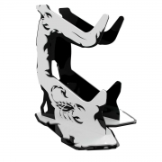 Suporte para Controle Rise Mode Scorpion Preto e Branco - RM-SC-03-BW