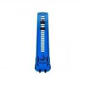 Suporte para Placa Vídeo Rise Mode LV2 Small Preto e Azul - RM-SV-04-BB