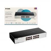Switch 16 Portas D-Link DGS-1016C, Gigabit 10/100/1000 - Não Gerenciável