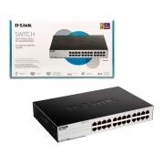 Switch 24 Portas D-Link DGS-1024C, Gigabit 10/100/1000 - Não Gerenciável