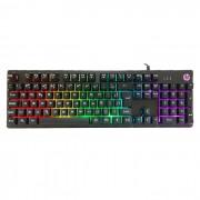 Teclado Gamer HP K500F, USB, Membrana, LED RGB, ABNT2, Preto