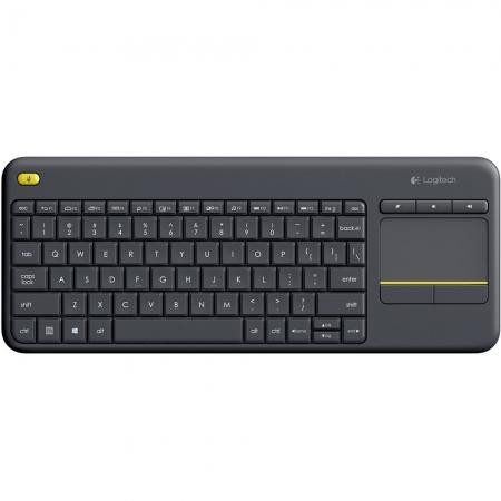 Teclado Logitech Wireless com Touchpad - K400