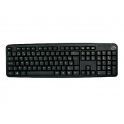 Teclado Newlink Level TC308, USB, Preto, ABNT2