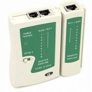 Testador de Cabos Multifuncional RJ11/RJ45