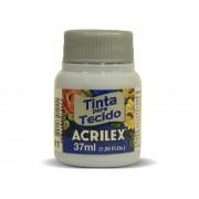 Tinta para Tecido Fosca, 37 ml, Contém 12 Unidades, Acrilex - Azul Bebê