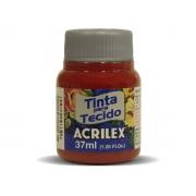 Tinta para Tecido Fosca, 37 ml, Contém 12 Unidades, Acrilex - Púrpura