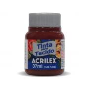 Tinta para Tecido Fosca, 37 ml, Contém 12 Unidades, Acrilex - Vinho