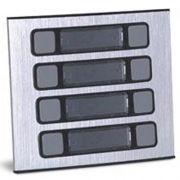 Unidade Externa Porteiro Eletrônico 8 Botões 90.02.01.527 HDL