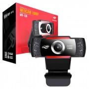 WebCam C3Tech WB-100BK, Resolução Full HD 1080p, USB 2.0, Microfone