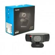 WebCam Rapoo C200, Resolução HD 720P (1280x720), Rotação Horizontal 360º, Preto - RA015