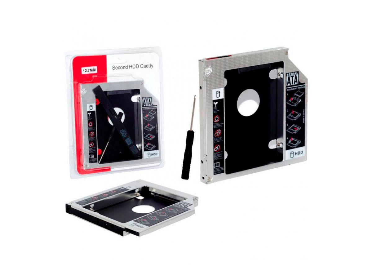 Adaptador Caddy P/SSD HD 9.5mm Rohs 5722