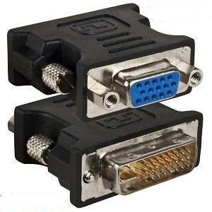 Adaptador DVI Macho 24 + 5 Pinos P / VGA Fâmea 1111 Rohs