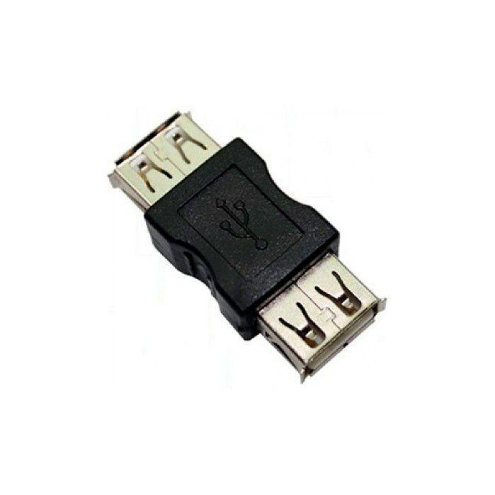 Adaptador Emenda USB A Femea X A Femea