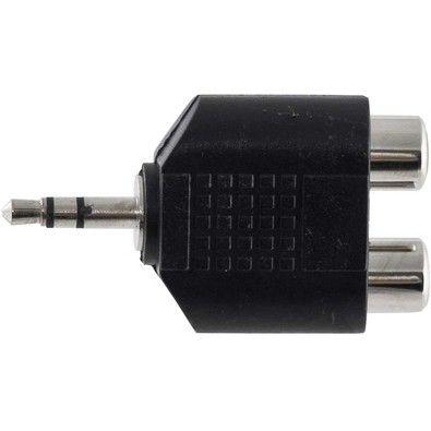 Adaptador P2-S Macho x 2 RCA Femea GV ADT.083
