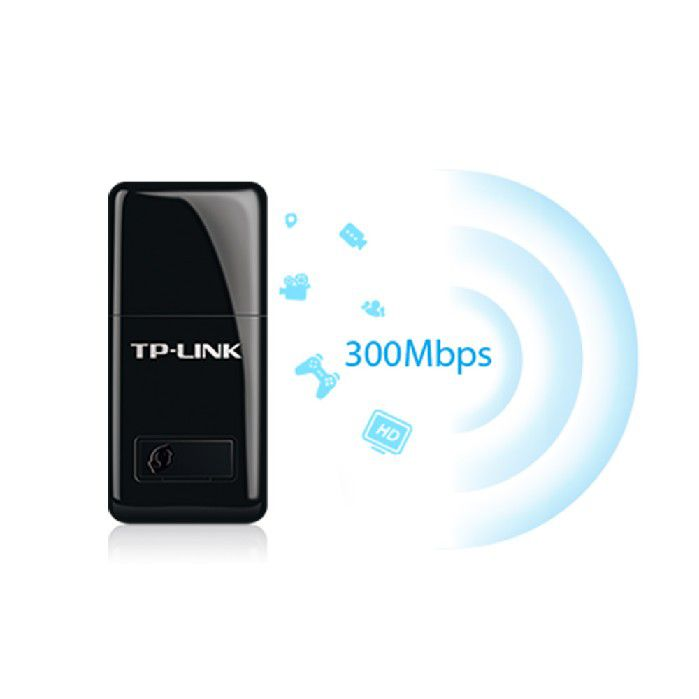 ADAPTADOR REDE USB WIRELESS  TP-LINK TL-WN823N