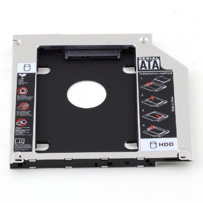 Adaptador Second Caddy 12,7MM P/SSD HD GVT.455