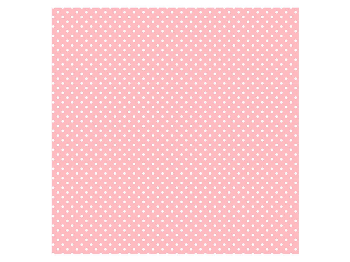 Adesivo Stick Infantil Poá Rosa Bebê, Contém 1 Rolo, 45cmx10m - Dekorama - 26047