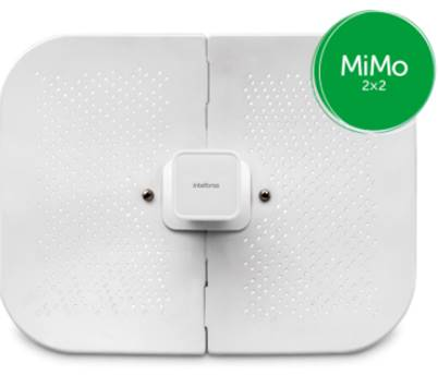 Ap Outdoor Wireless Cpe 300mbps Intelbras Wom 5a 23 Mimo 5.0ghz 23dbi 2x2 - 4750062