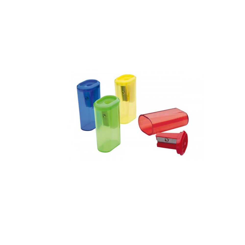 Apontador Com Depósito Eliptico Plastico Tris Su105 Basic.