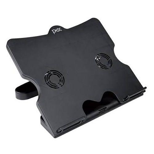 Base para Notebook Pisc 1827 com 2 Coolers Regulaveis Preto