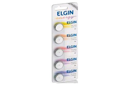 Bateria Litio Elgin CR2025 , 5 unidades