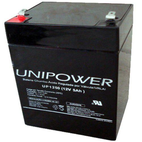 Bateria Unipower para Nobreak 12v 5.0AH F187 UP1250 - 04A047