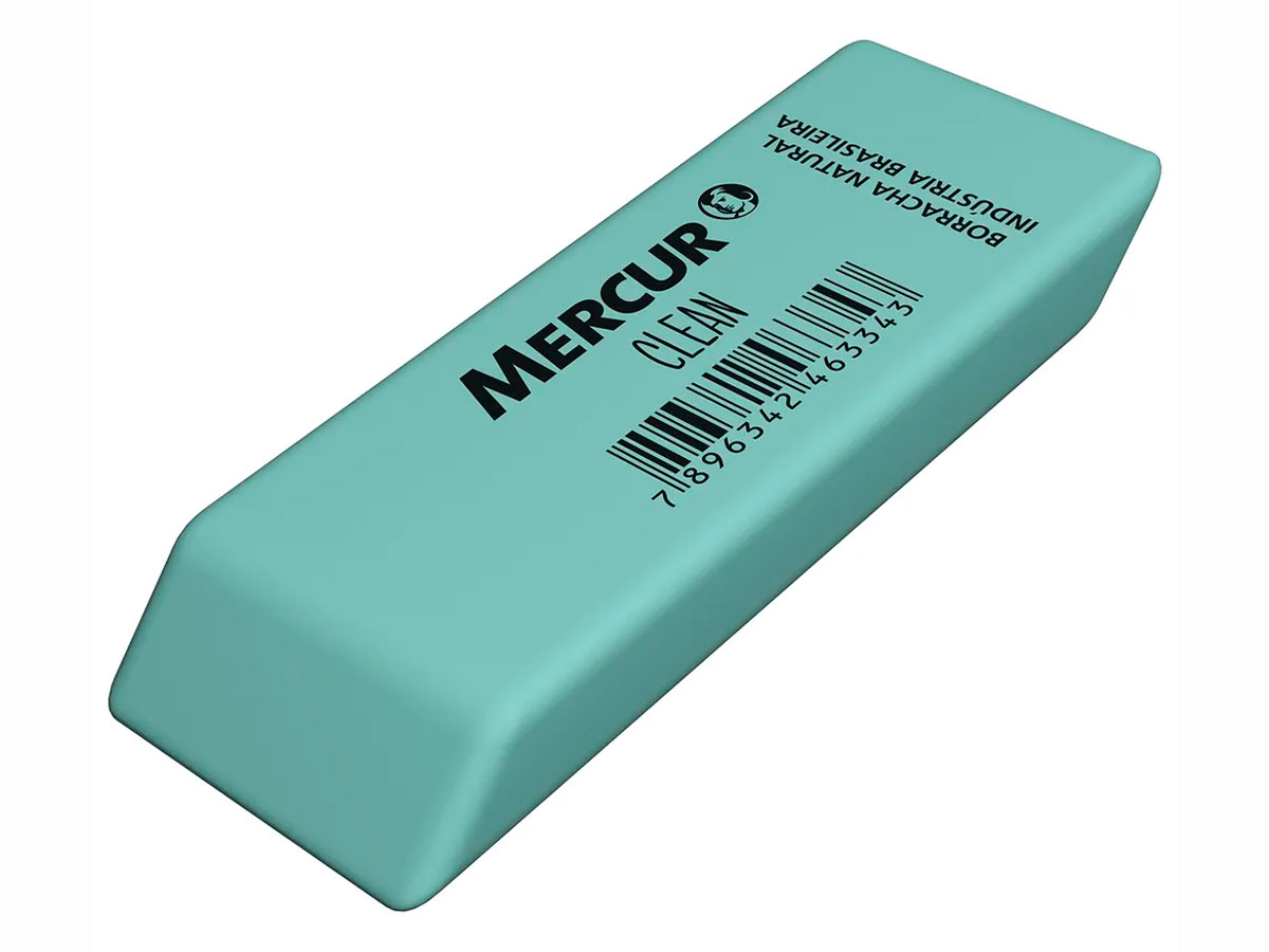 Borracha Clean Caixa Com 24 Unidades Mercur - B0101028