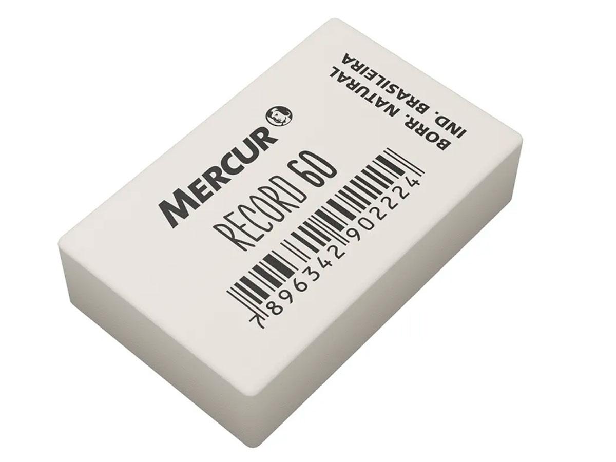 Borracha de Apagar Record 60 Pacote Com 60 Unidades Mercur - Branca - B010100601