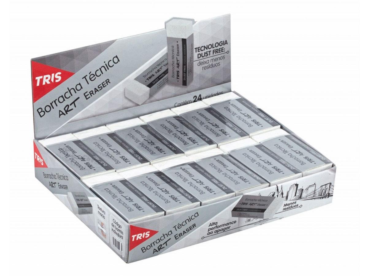 Borracha Técnica Art Eraser, Caixa c/ 24 Unidades - Tris - 686400