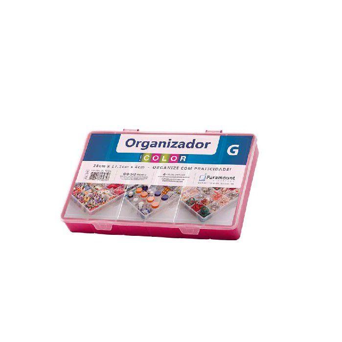 Box Color Organizador G Paramount - Vermelho - 706