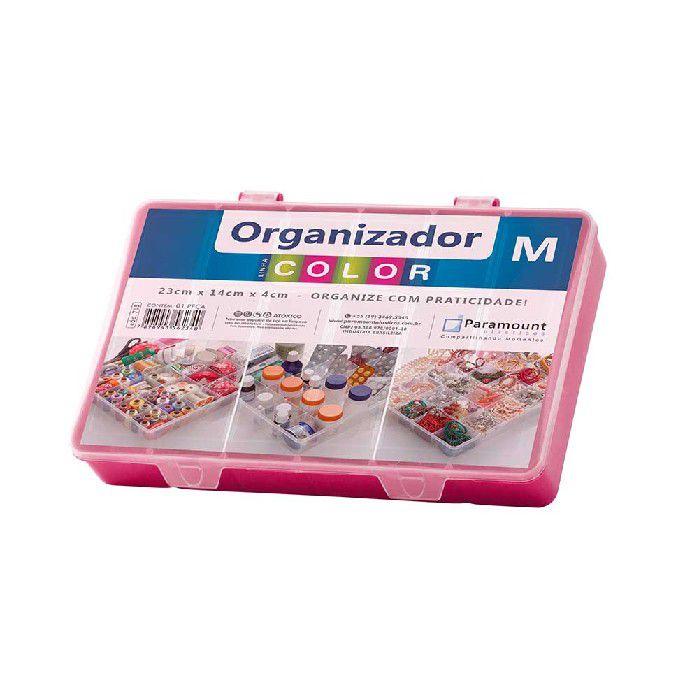 Box Color Organizador M Paramount - Vinho - 705