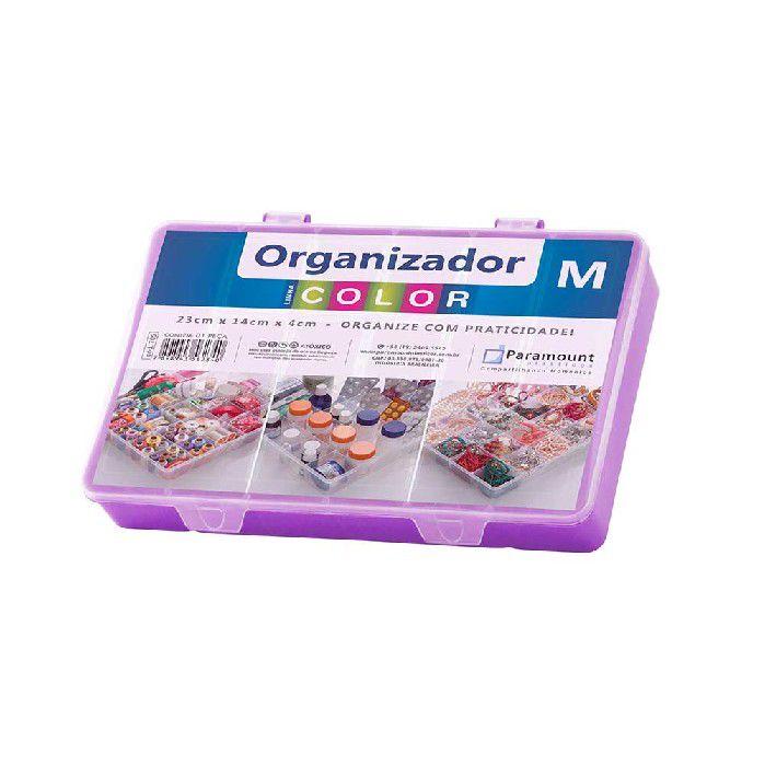 BOX ORGANIZADOR PARAMOUNT ROXO M COLOR - 705