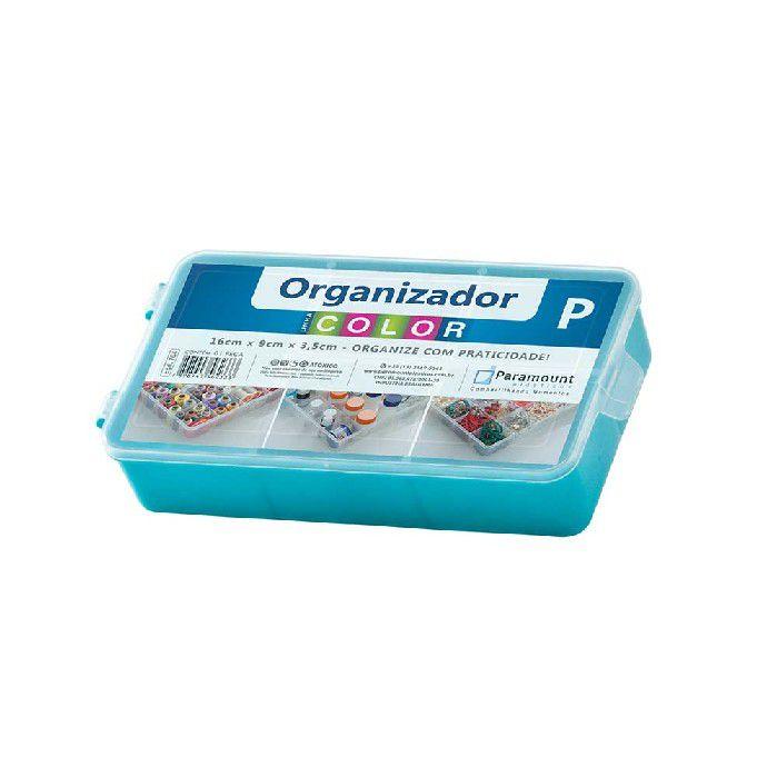 BOX ORGANIZADOR PARAMOUNT VERDE P COLOR - 704