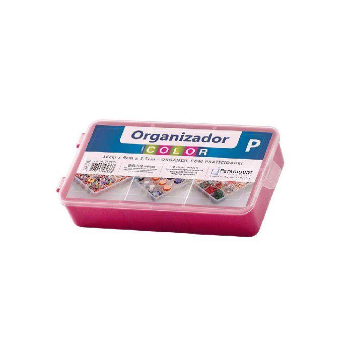 BOX ORGANIZADOR PARAMOUNT VERMELHO P COLOR - 704
