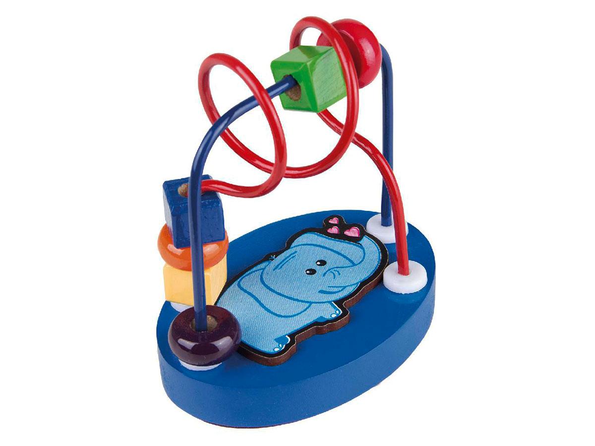 Brinquedo Aramado Mini Elefante, Carlu - 3129