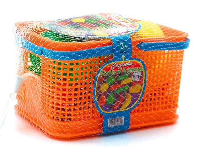 Brinquedo Cesta Com Frutas e Legumes Pica-Pau - 531