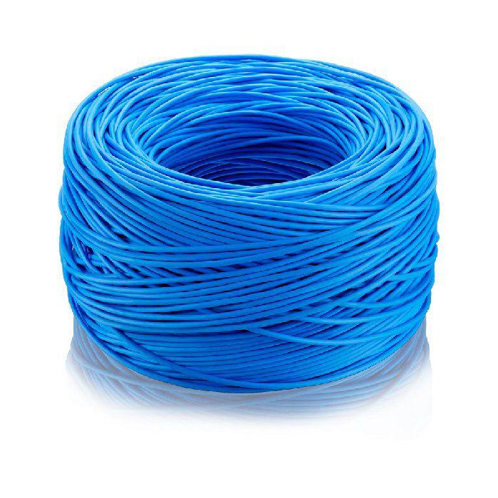 Cabo Cftv Elgin 4-pares/8-vias Azul Rolol 100-mts - 46rccftva100