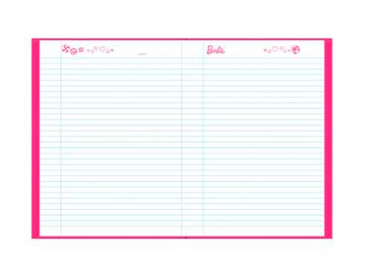 Caderno Brochurão Barbie Dreamtopia C.D. 96 fls. Pct. c/5 un. - Foroni