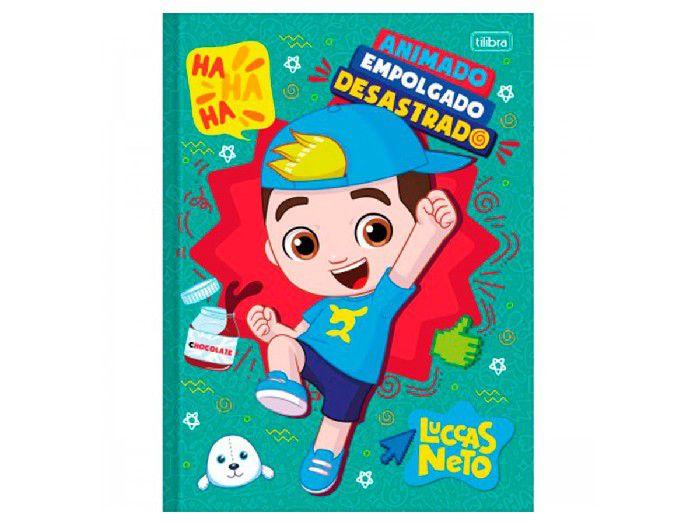 Caderno Brochurão C.D. Luccas Neto, 80 fls. Pct. c/ 5 Unidades - Tilibra - 309397