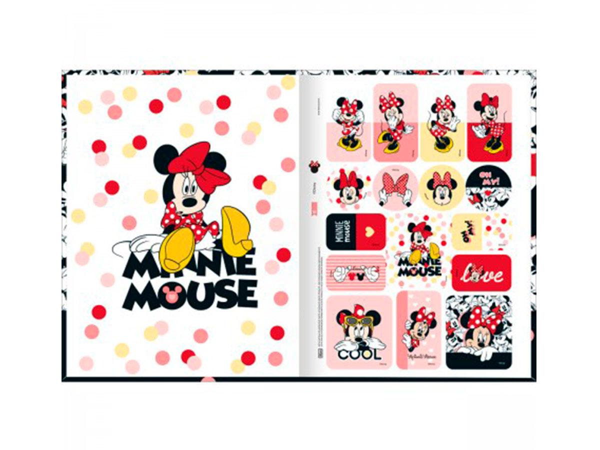 Caderno Brochurão C.D. Minnie, 80 Fls. Pct. c/ 5 Unidades - Tilibra - 308862