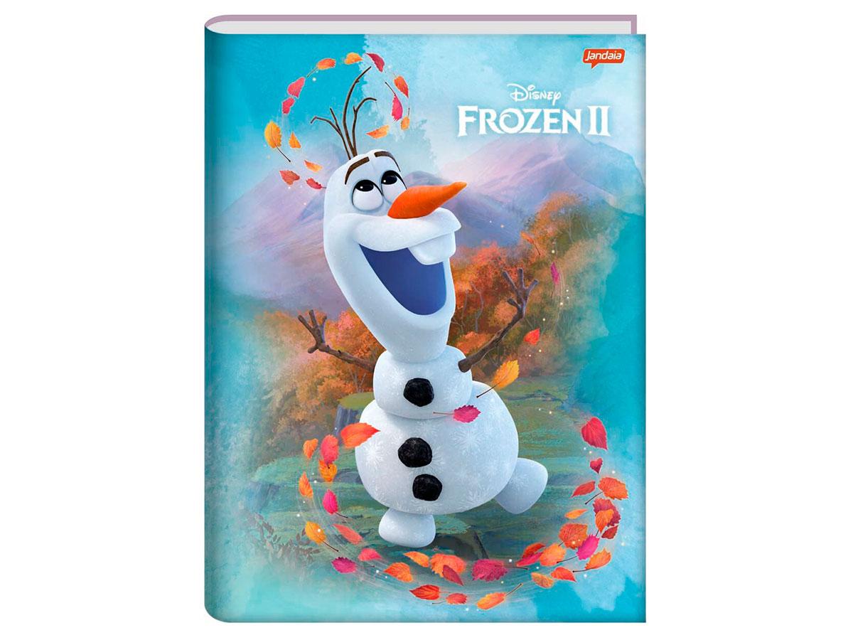 Caderno Brochurão Capa Dura Frozen 96 Fls. Pct C/ 5 Unidades -  Jandaia - 6250920