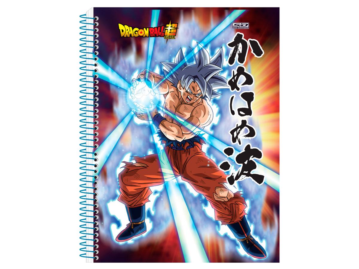 Caderno Espiral C.D. 15x1 Dragon Ball, 300 Fls. Pct. C/ 2 Un. - São Domingos - 4318