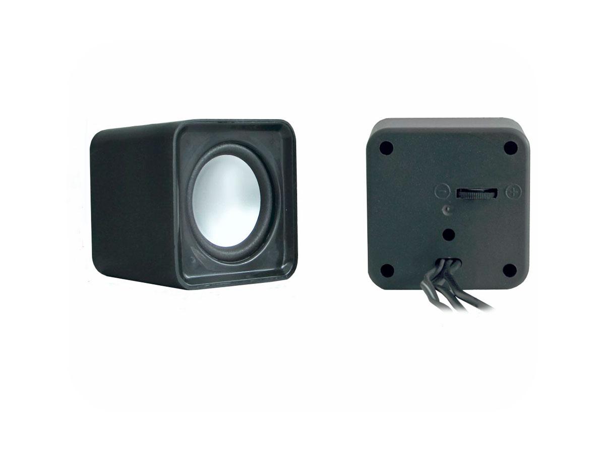 Caixa de Som K-mex SP-8900 USB Preto 2W+2W Rms