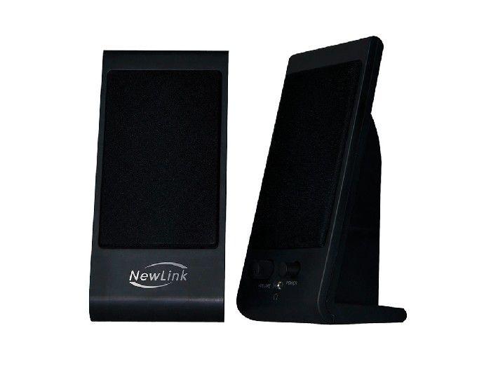 Caixa de Som Newlink Slim 4W Rms Preto SP203NL