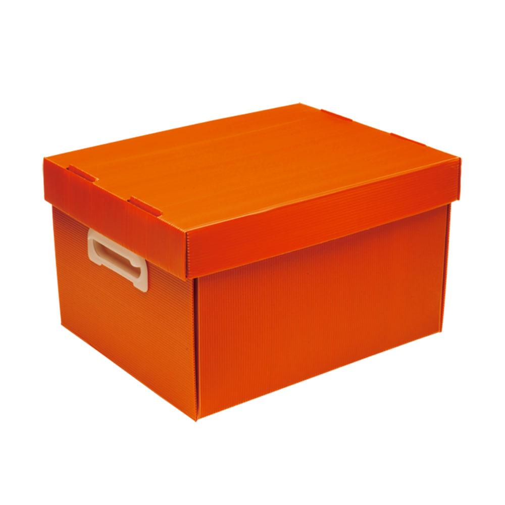 Caixa Organizadora M Polibras - Vermelha (fosca) - 222/07