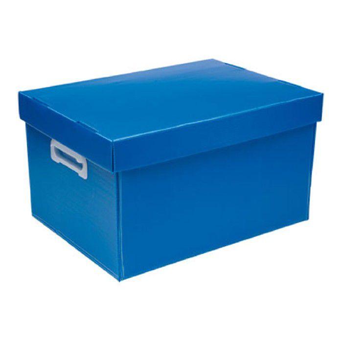 Caixa Organizadora Polibras g Azul (fosca) - 223/09