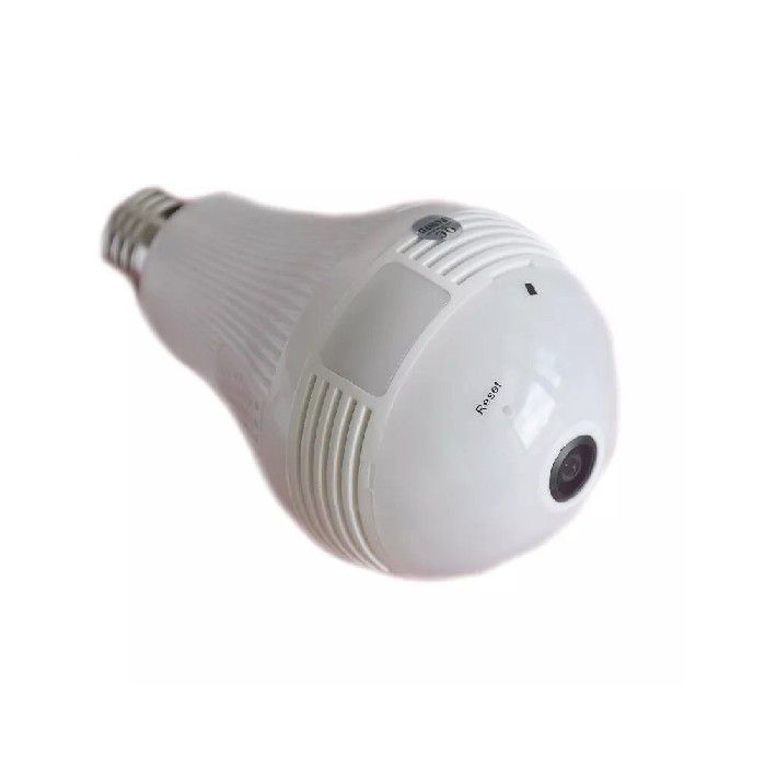 Camera Lampada Ip 360° Hd Panorâmica Led Wifi - 809