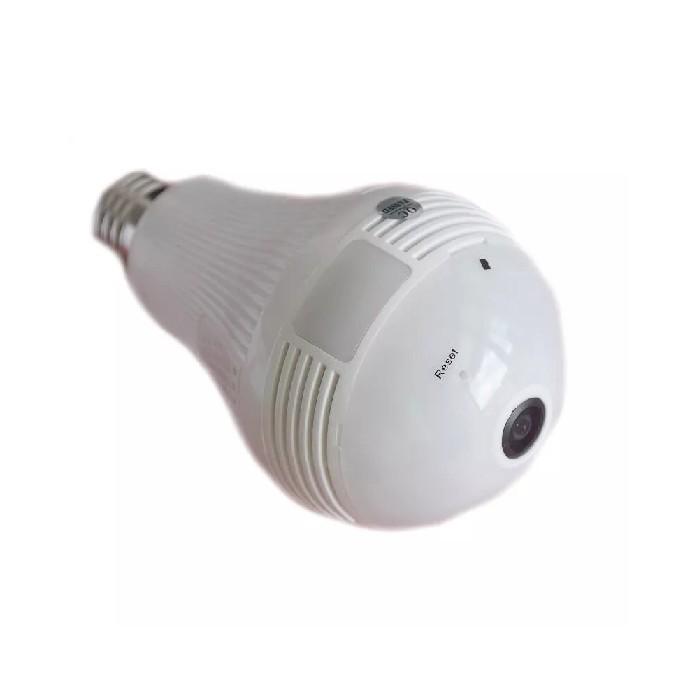 Camera Lampada Ip 360° Hd Panorâmica Led Wifi - 809